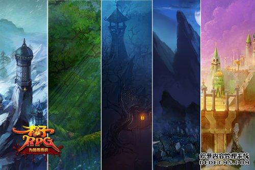 天堂美景走一遭格子RPG萌萌恶魔玩策略